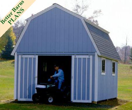 Modified Gambrel 12 x 20 Plan, #2008   Better Barns ...