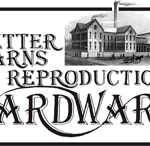 Better Barns Reproduction Hardware