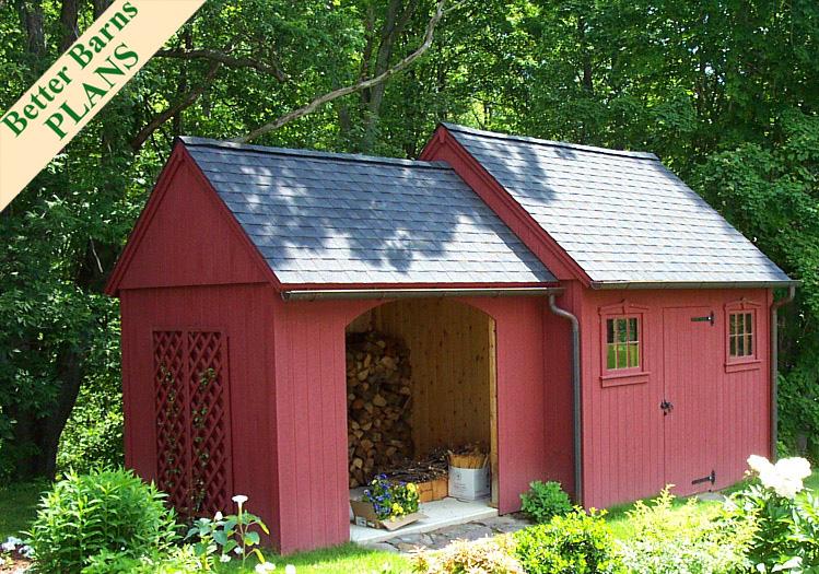 8x10 Wood Storage 2022